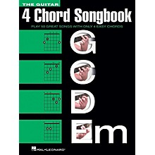 Hal Leonard The Guitar Four Chord Songbook (4 Chord) G-C-D-Em