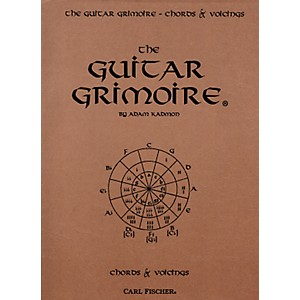 Carl Fischer The Guitar Grimoire - Chords and Voicings Book by Carl Fischer