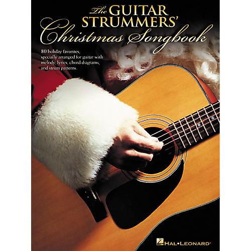Hal Leonard The Guitar Strummers' Christmas Chord Songbook