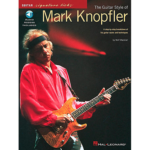 Hal Leonard The Guitar Style of Mark Knopfler Signature Licks Book with CD-thumbnail