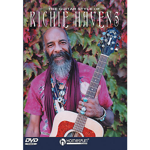 Homespun The Guitar Style of Richie Havens (DVD)