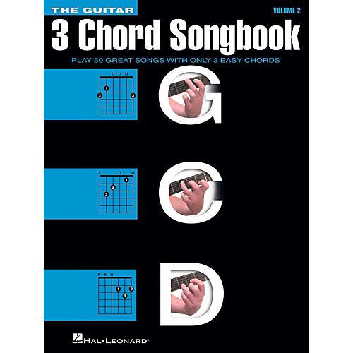 Hal Leonard The Guitar Three Chord Songbook Volume 2  G-C-D-thumbnail