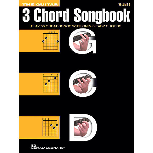 Hal Leonard The Guitar Three Chord Songbook Volume 3  G-C-D-thumbnail
