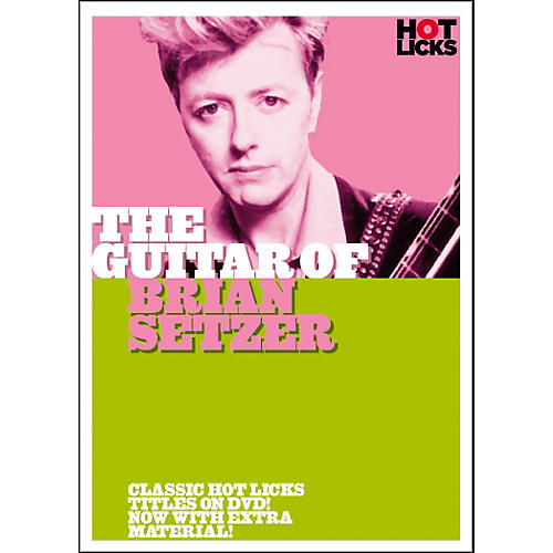 Hot Licks The Guitar of Brian Setzer (DVD)-thumbnail