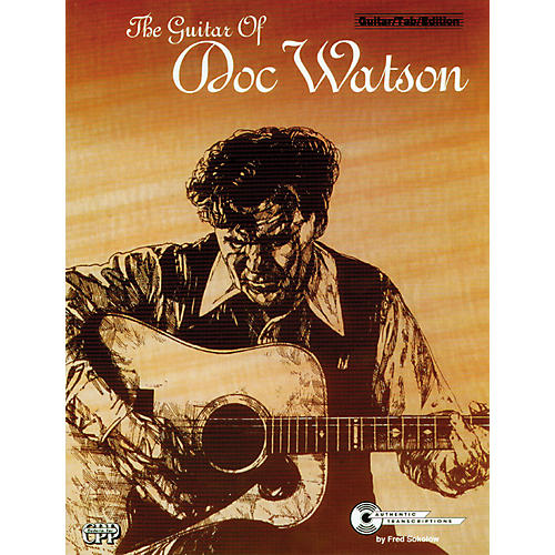 Alfred The Guitar of Doc Watson Book-thumbnail