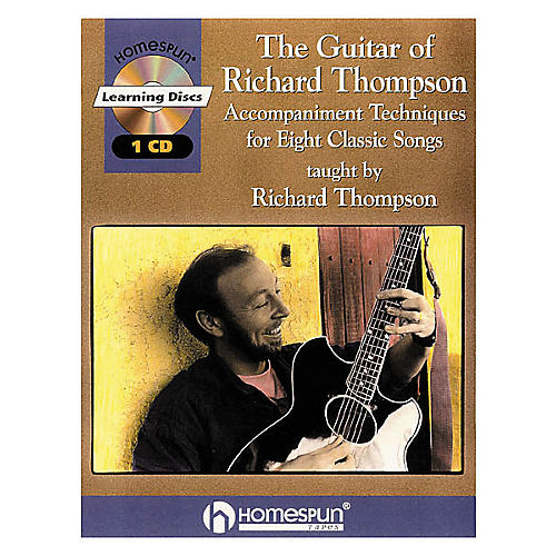 Homespun The Guitar of Richard Thompson (Book/CD)