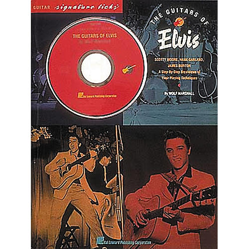 Hal Leonard The Guitars of Elvis Signature Licks Book & CD
