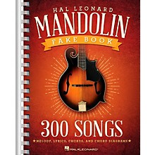 Hal Leonard The Hal Leonard Mandolin Fake Book