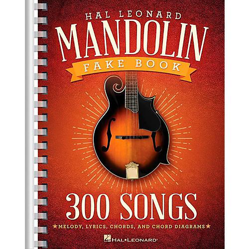 Hal Leonard The Hal Leonard Mandolin Fake Book-thumbnail