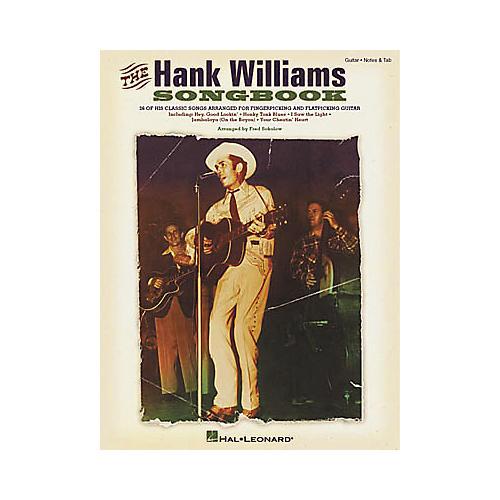 Hal Leonard The Hank Williams Guitar Tab Book-thumbnail