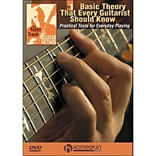 Homespun The Happy Traum Guitar Method; Basic Theory That Every Guitarist Should Know DVD 1