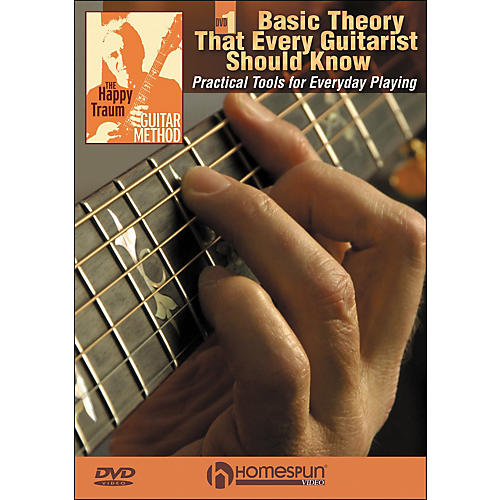 Homespun The Happy Traum Guitar Method; Basic Theory That Every Guitarist Should Know DVD 1-thumbnail