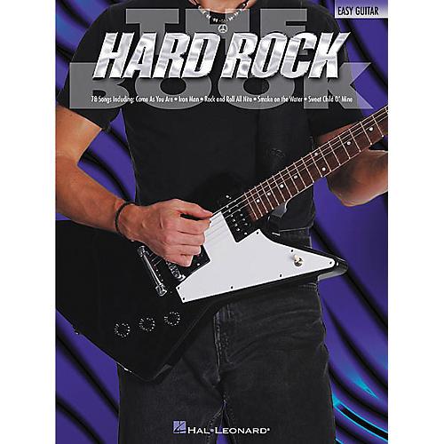 Hal Leonard The Hard Rock Easy Guitar Tab Songbook-thumbnail