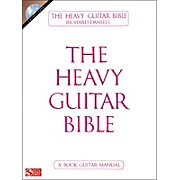 Cherry Lane The Heavy Guitar Bible (Book/CD)