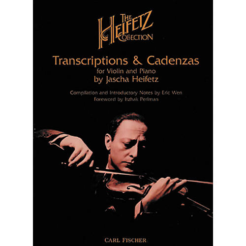Carl Fischer The Heifetz Collection: Transcriptions & Cadenzas-thumbnail