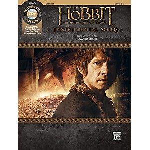 Alfred The Hobbit - The Motion Picture Trilogy Instrumental Solos Clarinet ...