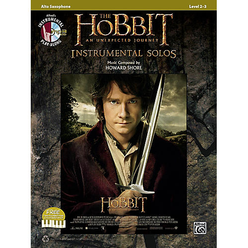 Alfred The Hobbit: An Unexpected Journey Instrumental Solos Alto Sax (Book/CD)-thumbnail