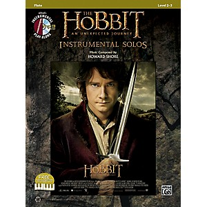 Alfred The Hobbit: An Unexpected Journey Instrumental Solos Flute Book/CD by Alfred