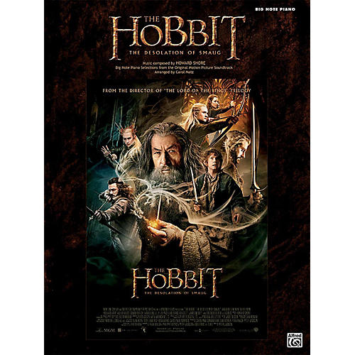 Alfred The Hobbit The Desolation of Smaug Big Note Piano Book-thumbnail