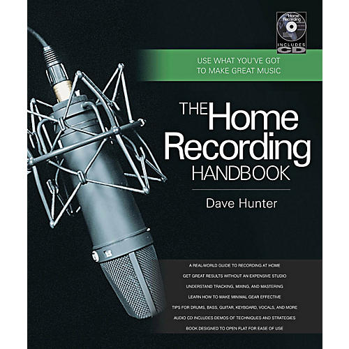 Hal Leonard The Home Recording Handbook Book/CD