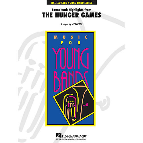 Hal Leonard The Hunger Games Soundtrack Highlights - Young Band Series Level 3