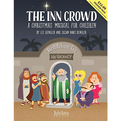 Alfred The Inn Crowd CD Preview Pack-thumbnail