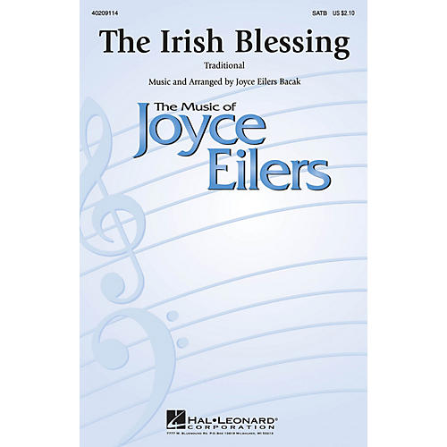 Hal Leonard The Irish Blessing SATB a cappella composed by Joyce Eilers