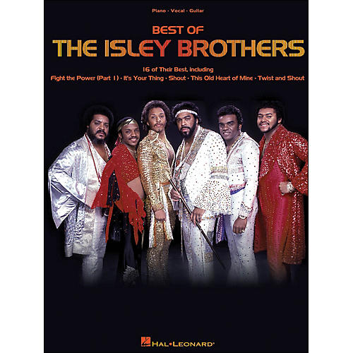 Hal Leonard The Isley Brothers Best Of arranged for piano, vocal, and guitar (P/V/G)-thumbnail