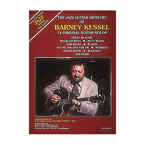 Ashley Mark The Jazz Guitar Artistry of Barney Kessel Tab Songbook-thumbnail