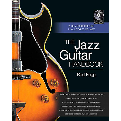 Backbeat Books The Jazz Guitar Handbook:  A Complete Course in All Styles of Jazz-thumbnail