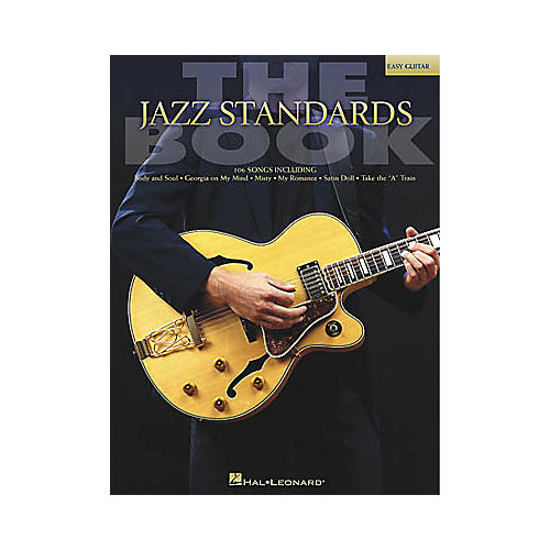 Hal Leonard The Jazz Standards Easy Guitar Book