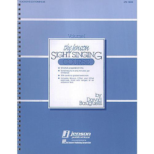 Hal Leonard The Jenson Sight Singing Course (Vol. I) TEACHER ED composed by David Bauguess