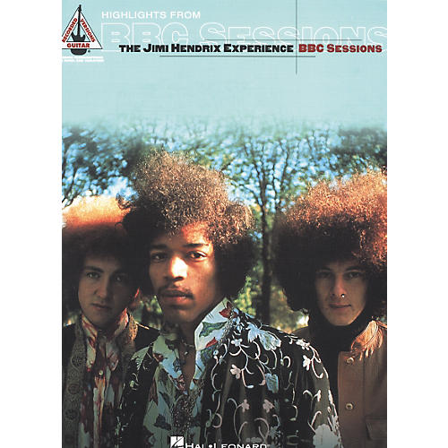 Hal Leonard The Jimi Hendrix Experience - Highlights from BBC Sessions