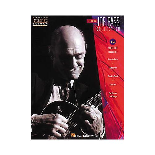 Hal Leonard The Joe Pass Collection Transcribed Scores Book-thumbnail