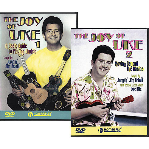 Homespun The Joy of Uke - Volume 1 and 2 (DVD)-thumbnail