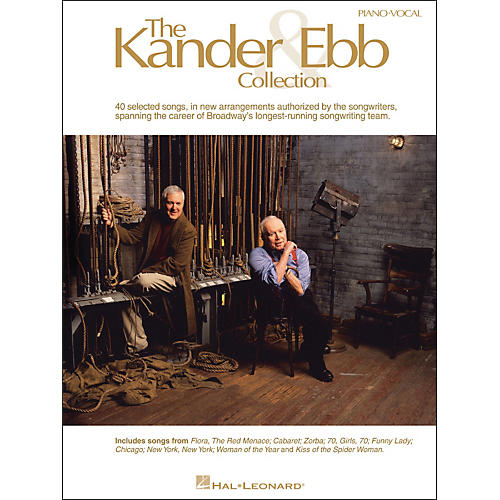 Hal Leonard The Kander & Ebb Collection arranged for piano, vocal, and guitar (P/V/G)