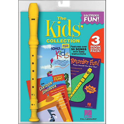 Hal Leonard The Kids' Collection - Recorder Fun! 3-Book Bonus Pack
