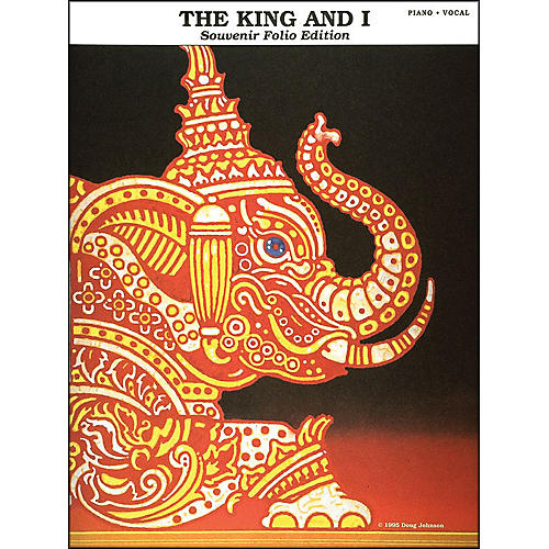 Hal Leonard The King And I Souvenir Edition arranged for piano, vocal, and guitar (P/V/G)-thumbnail