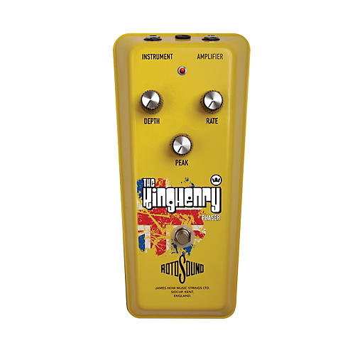 Rotosound The King Henry Vintage Phaser Guitar Effects Pedal