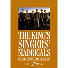 Faber Music LTD The King's Singers' Madrigals (Vol. 1) (Collection) 4 Part Edited by Clifford Bartlett