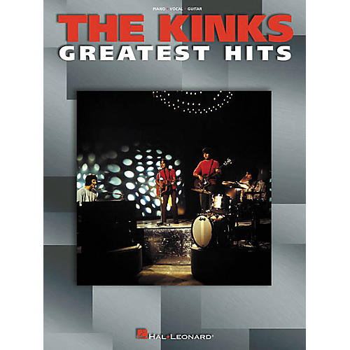 Hal Leonard The Kinks Greatest Hits Songbook-thumbnail