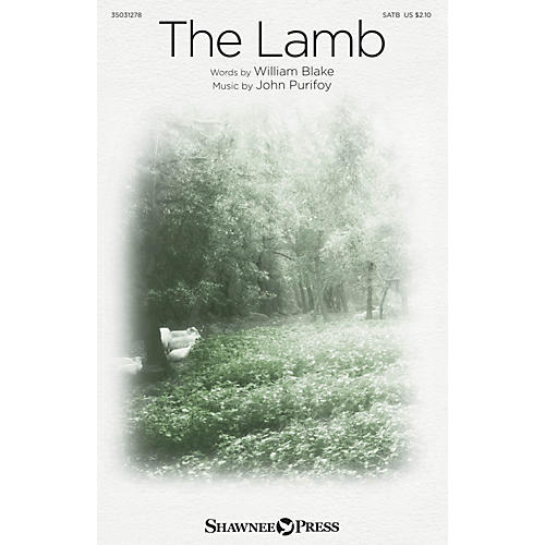 Shawnee Press The Lamb SATB composed by John Purifoy