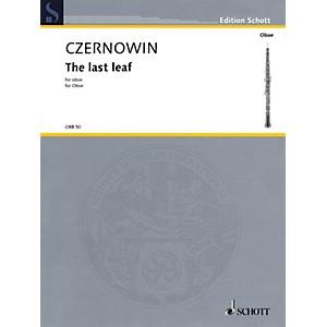 Schott The Last Leaf Oboe Solo Woodwind Solo Series Book