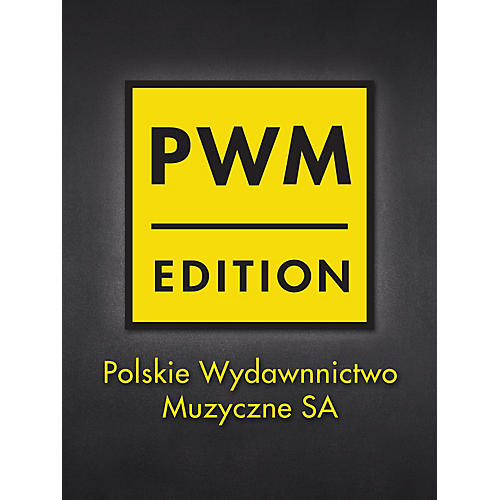 PWM The Last Mazurka In F Minor For Piano PWM Series Composed by F Chopin