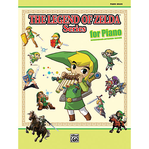 Alfred The Legend of Zelda Series for Piano Book