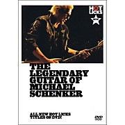 Music Sales The Legendary Guitar Of Michael Schenker - Instructional Guitar DVD
