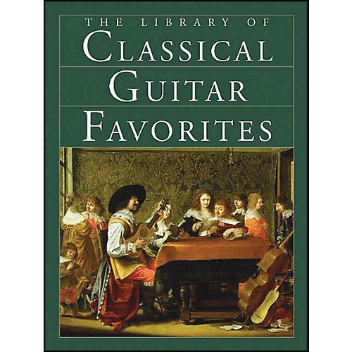 Music Sales The Library Of Classical Guitar Favorites-thumbnail