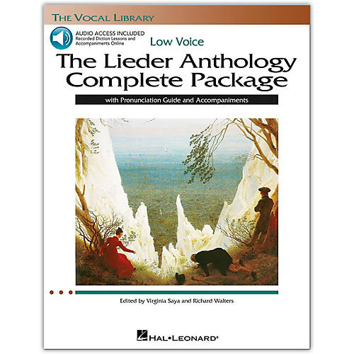 Hal Leonard The Lieder Anthology Complete Package for Low Voice Book/Online Audio-thumbnail