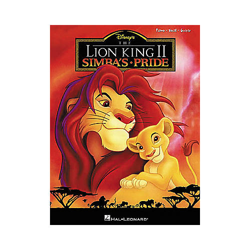 Hal Leonard The Lion King II Piano, Vocal, Guitar Songbook