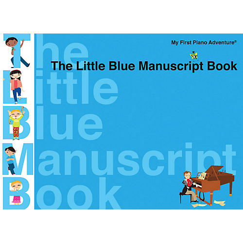 Faber Piano Adventures The Little Blue Manuscript Book - Faber Piano Adventures